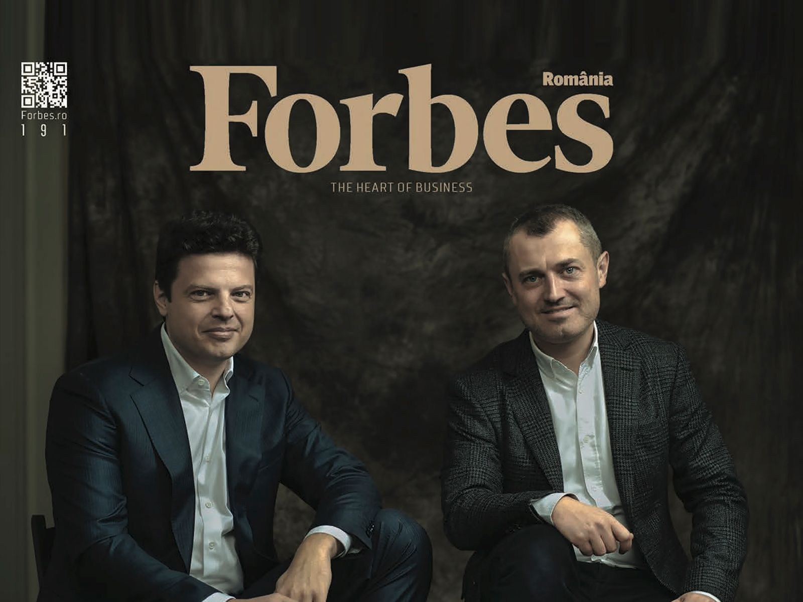 Victor Căpitanu and Andrei Diaconescu, founders of One United Properties, speak about their beginnings in the business and future insights of the company in the latest Forbes Romania cover story
