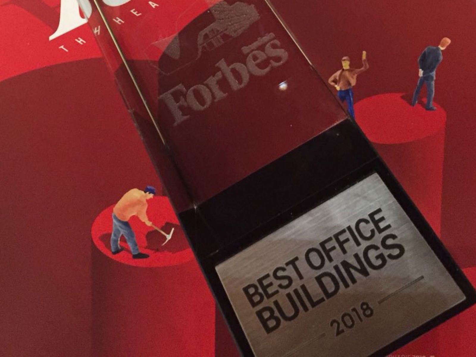 One United Properties was awarded for its office division at Forbes Office Buildings 2018 Awards