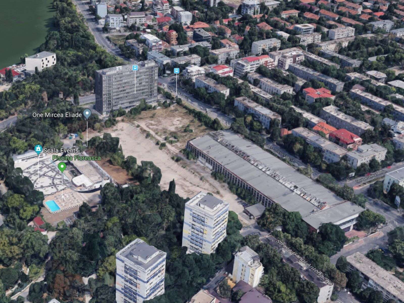 One Floreasca City gives back to Bucharest and its community a central area, abandoned for 2 decades