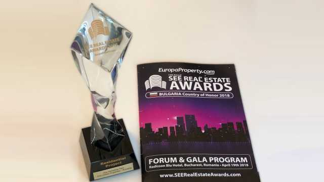 One Herăstrău Park was awarded Residential Project of the Year at SEE Real Estate Awards Gala