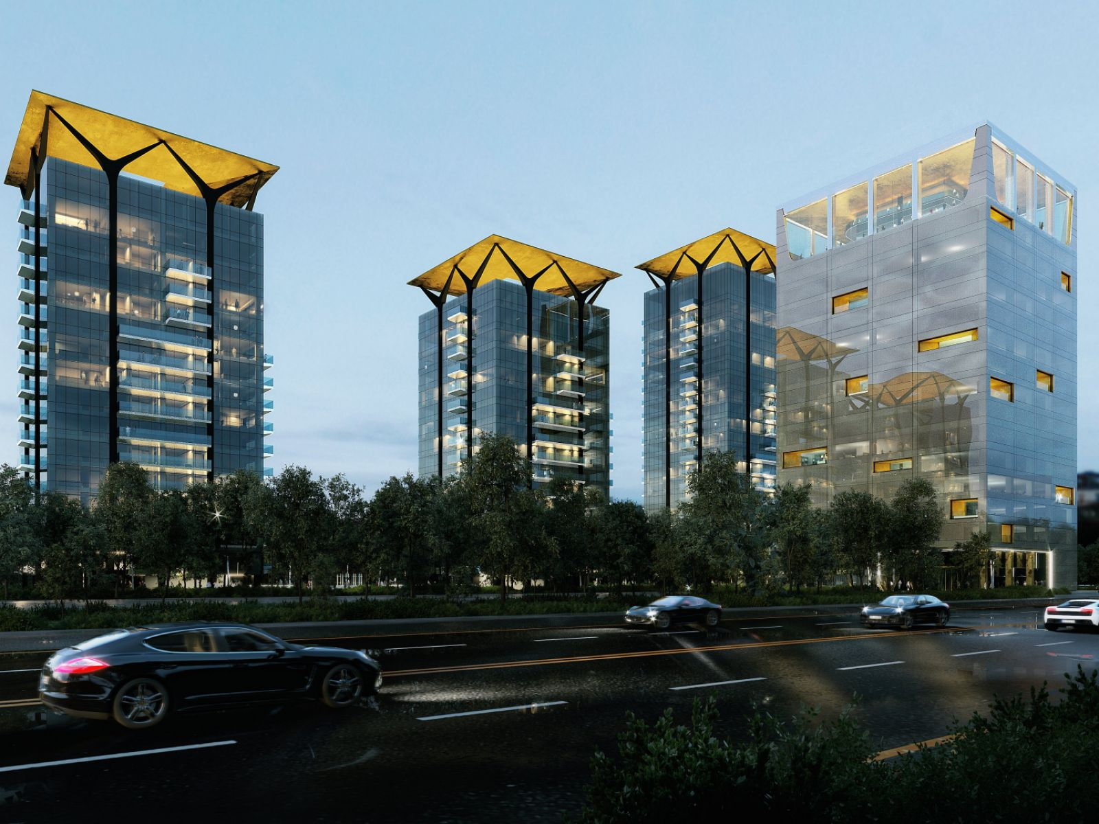 One Tower to be granted the most advanced LEED pre-certification on Romanian market