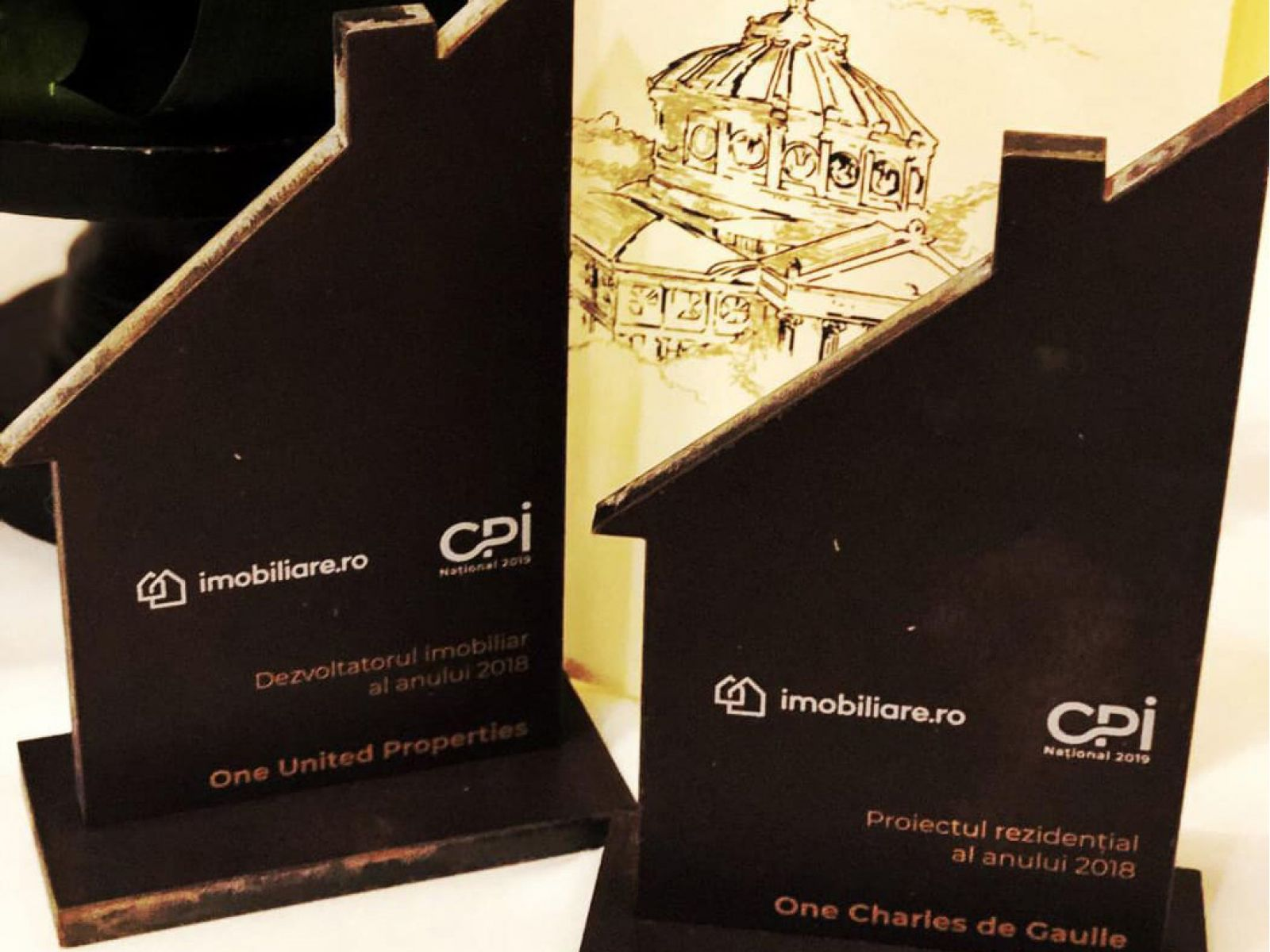 One United Properties, recipient of Developer of the Year & Residential Project of the Year Awards at CPI Național 2019