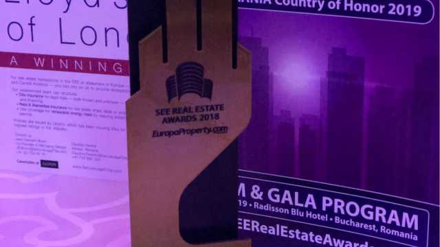One Charles de Gaulle was awarded Residential Project of the Year at Europa Property SEE Real Estate Awards Gala