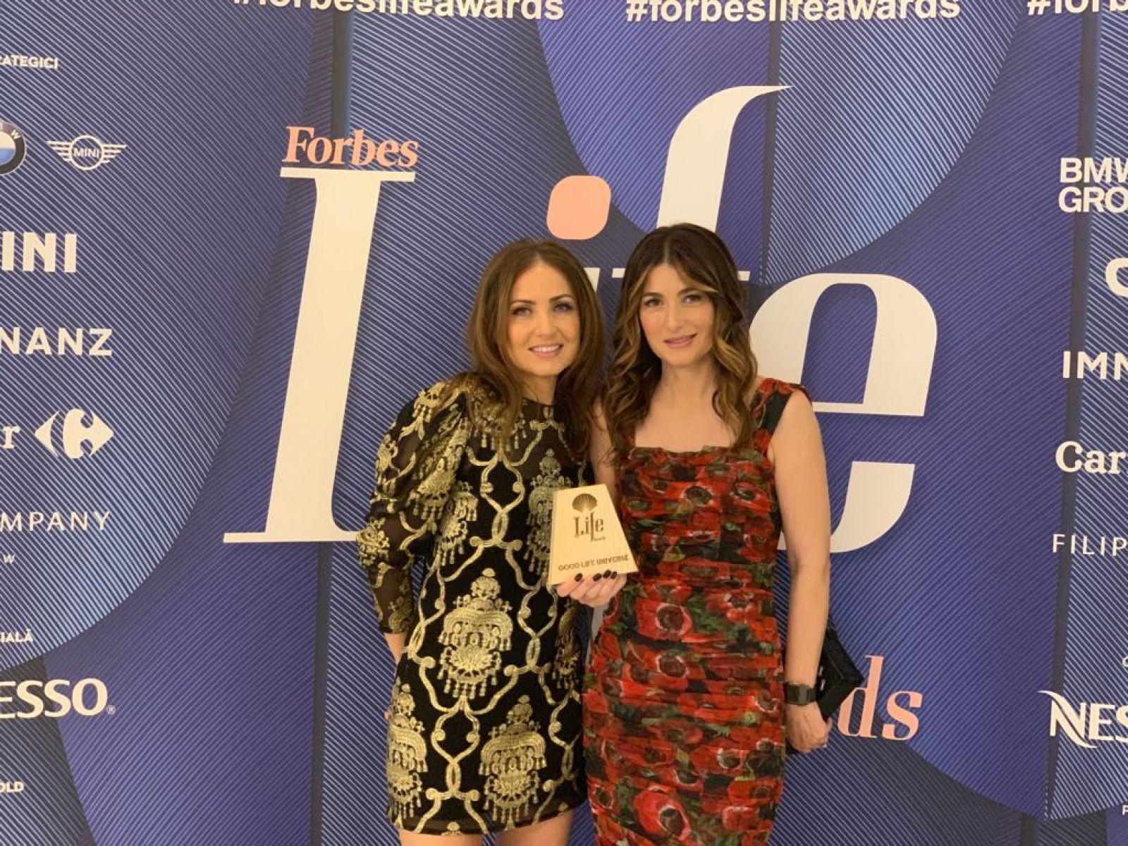Lemon Interior Design received the Good Life Universe Award at Forbes Life Romania Gala