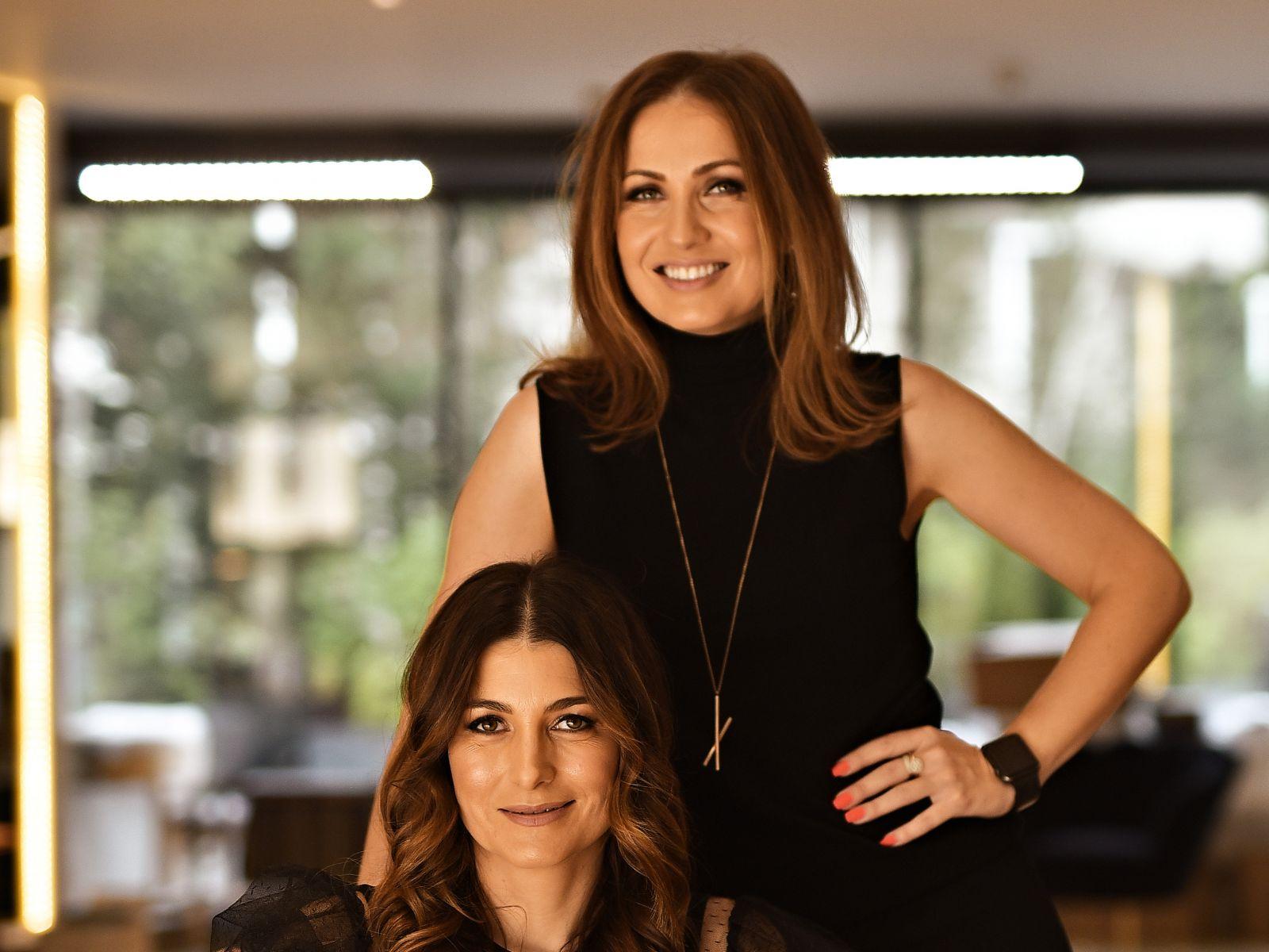 Cristina Căpitanu and Elena Oancea on Lemon Interior Design – office division, in New Money