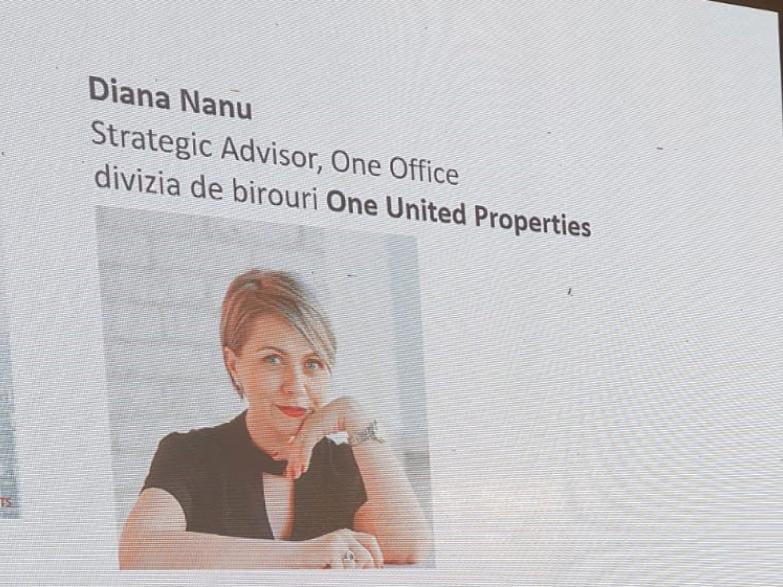 Diana Nanu at ZF Offices and Residential Conference