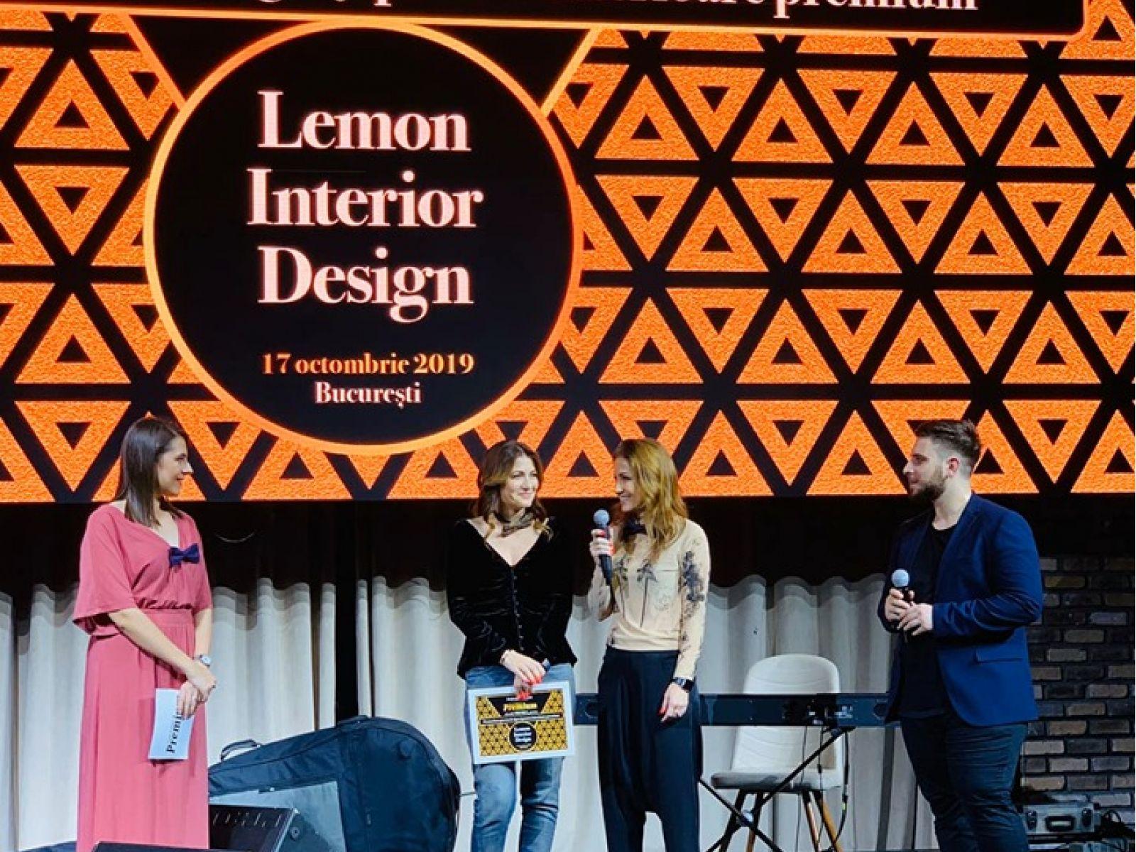 Lemon Interior Design was awarded at ZF După Afaceri Premium Gala