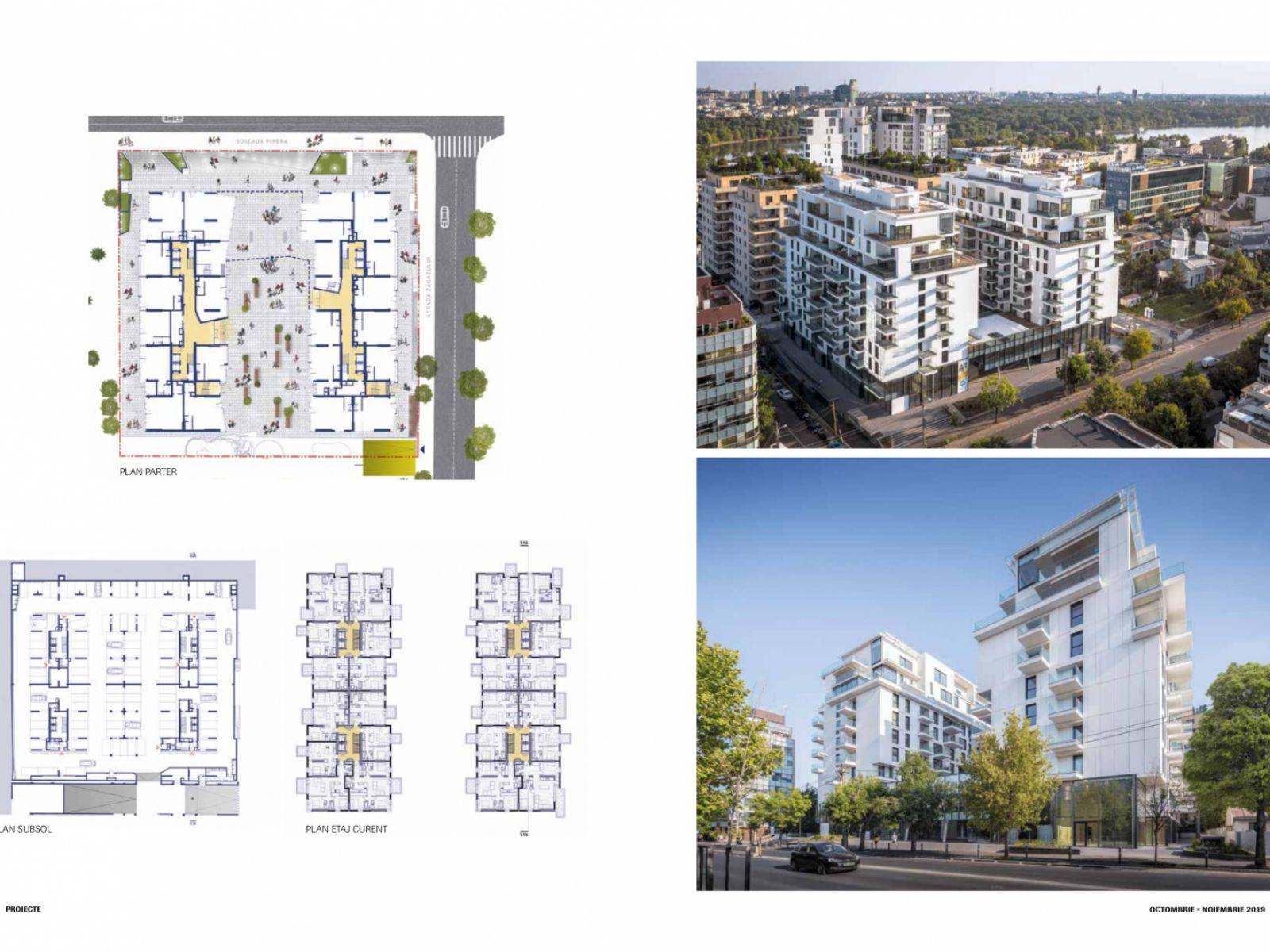 One Herăstrău Plaza – extensive coverage in the latest issue Igloo magazine