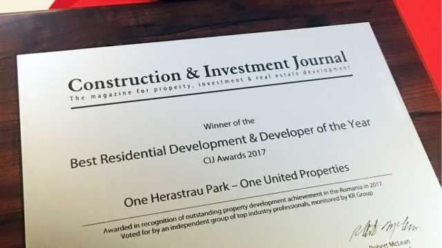 Best Residential Development & Developer of the Year Award