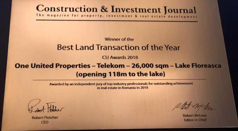 Best Land Transaction