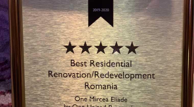 Best Residential Renovation / Redevelopment