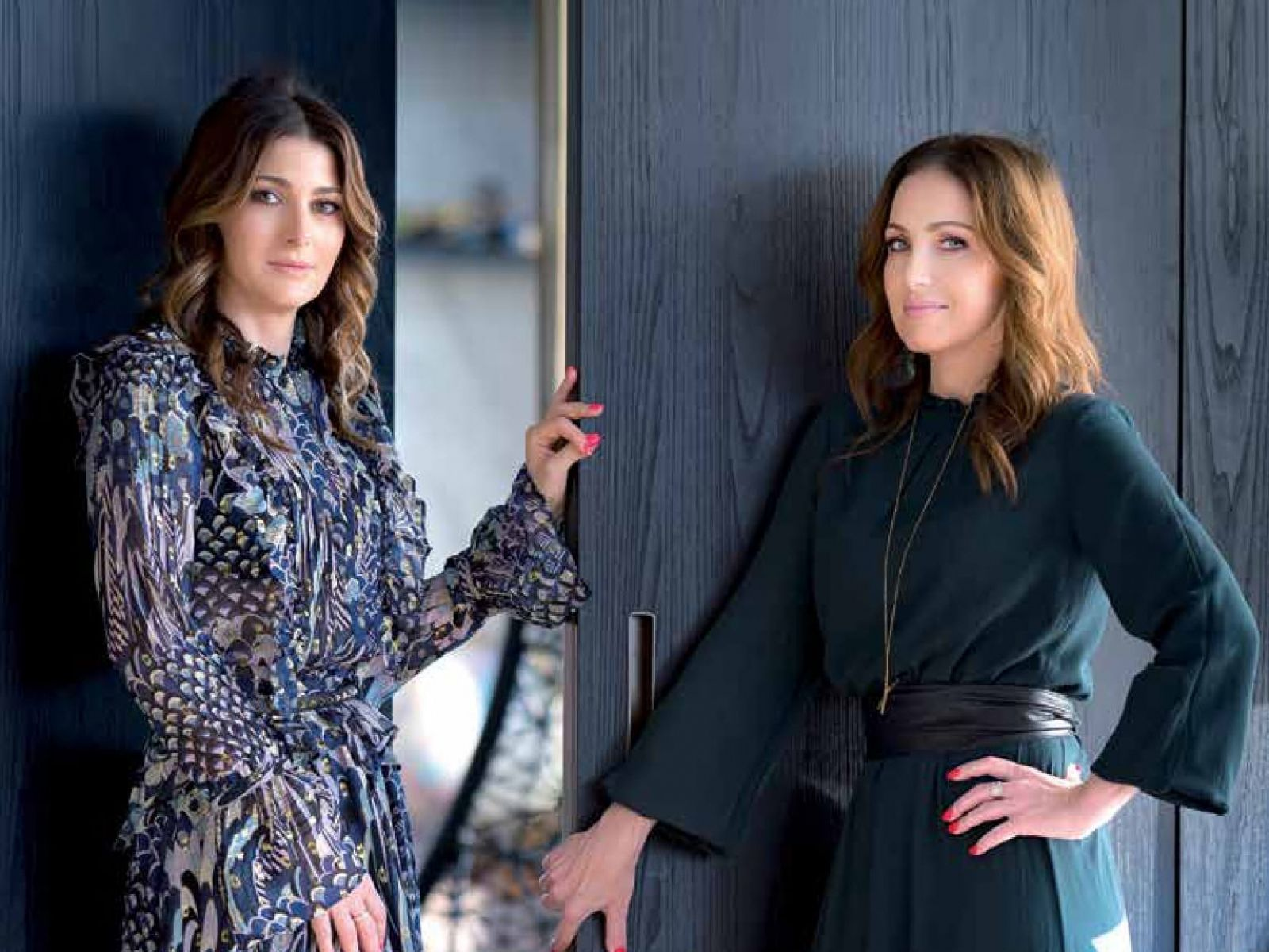 Cristina Căpitanu and Elena Oancea on Business Magazin cover: Redefining luxury