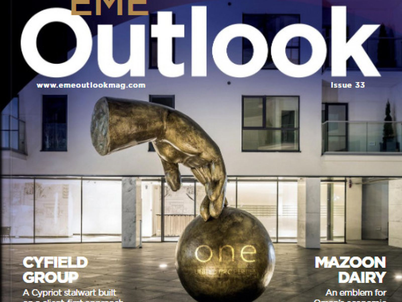 One United Properties featured on EME Outlook most recent cover