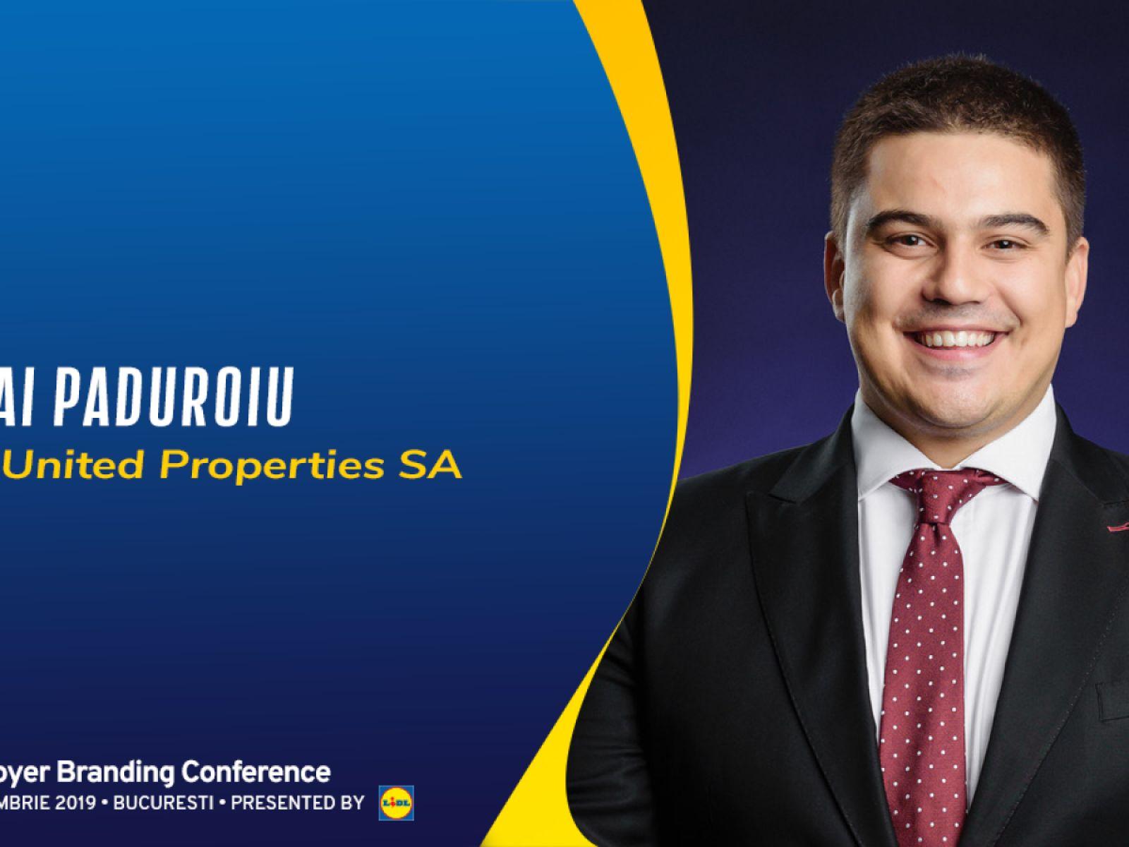 Mihai Păduroiu, CEO Office Division, speaker at Employer Branding Conference