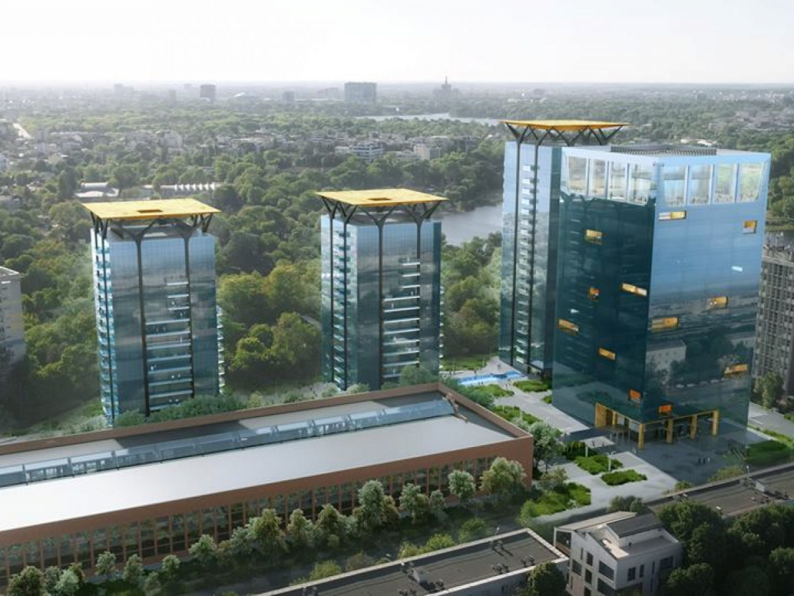 CBRE takes over the property management services for the projects developed by One United Properties in the north of Bucharest