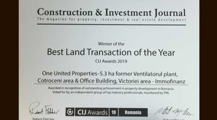 Best Land Transaction of the Year