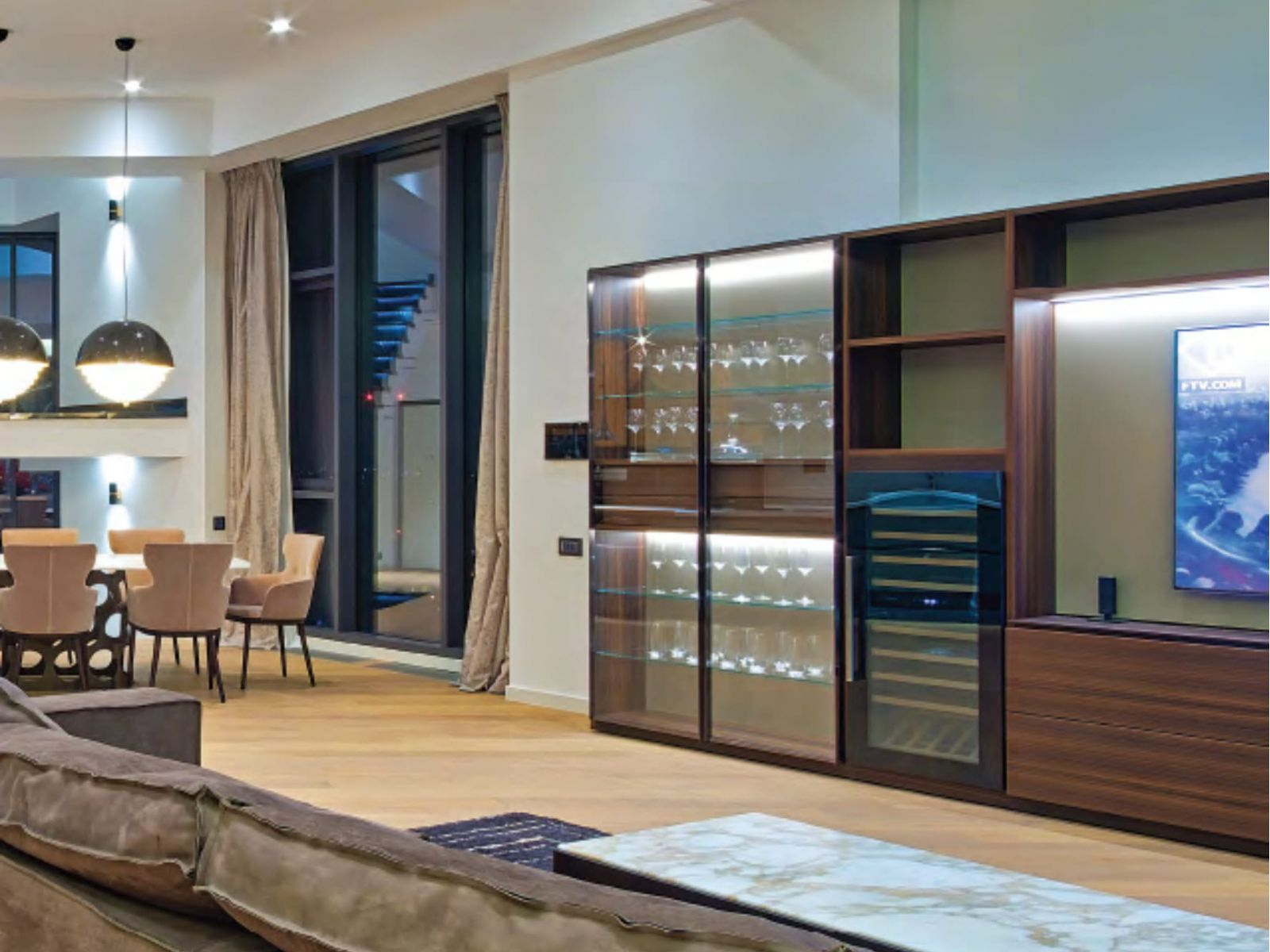 Contemporary urban refinement – Lemon Interior Design for Ideal Decor