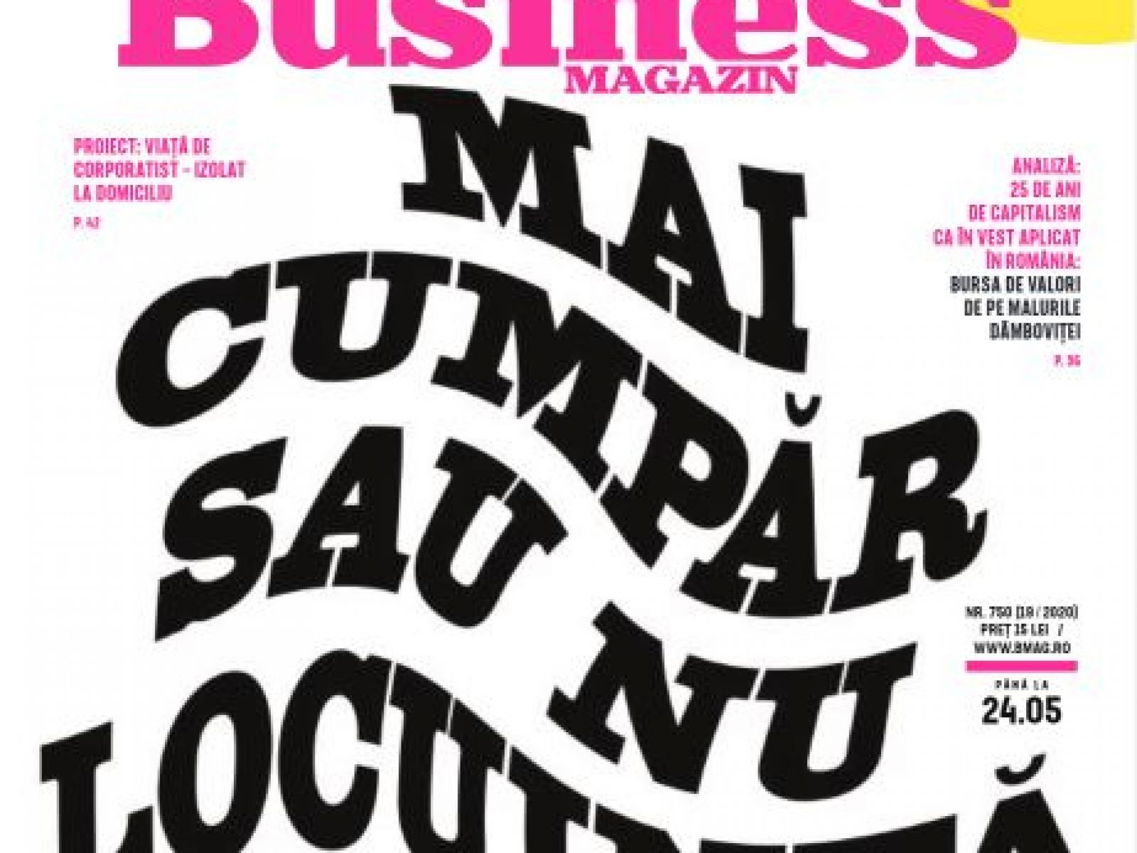 """Beatrice Dumitrașcu for Business Magazin: """"The location will make the difference when we speak about real estate"""""""
