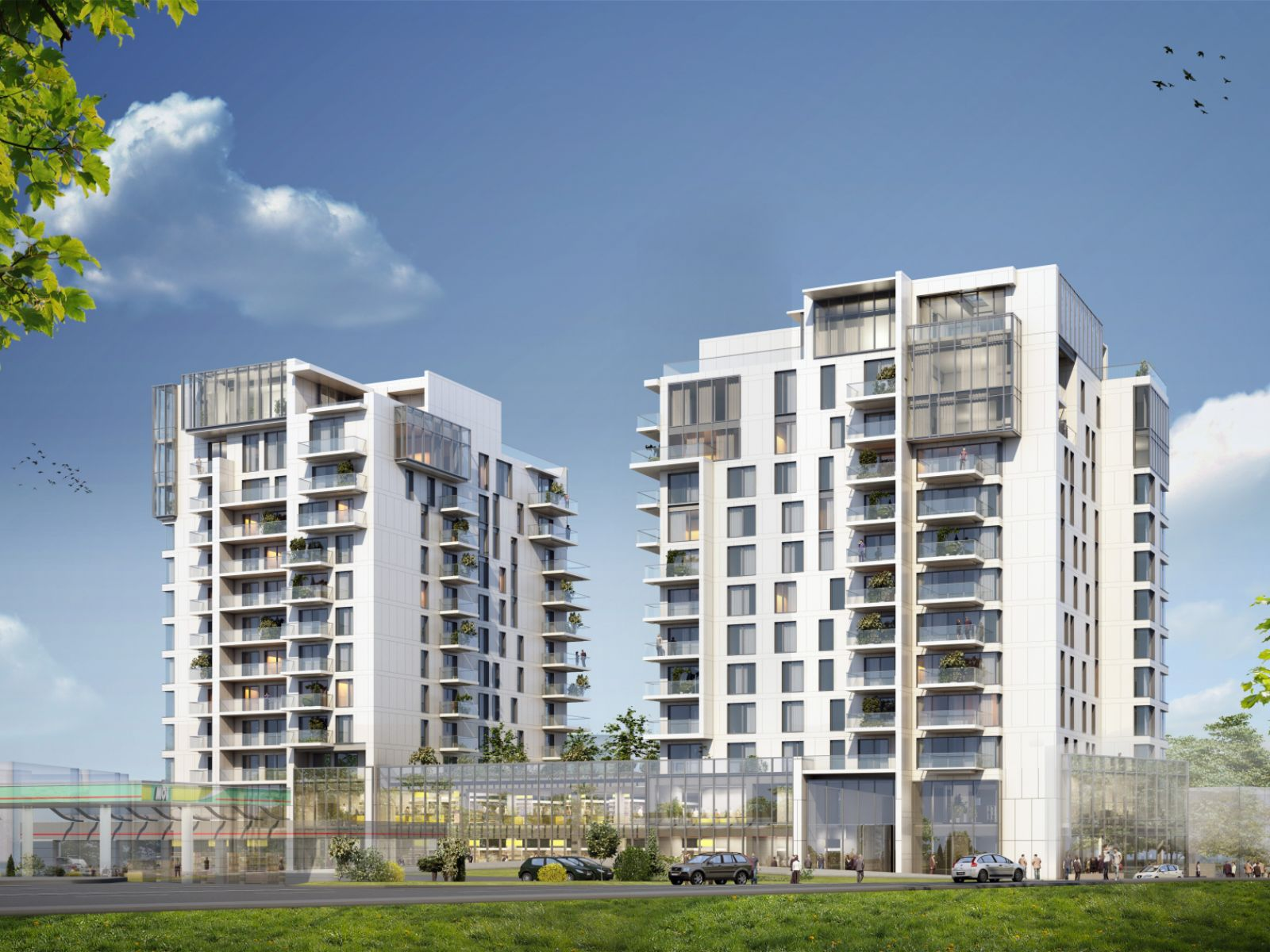 One Herăstrău Towers, on ZF cover: the most important residential development in Herăstrău, to be completed this year