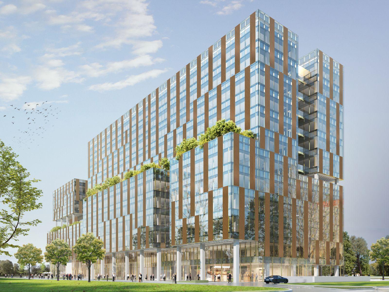 New design façade for One Cotroceni Park