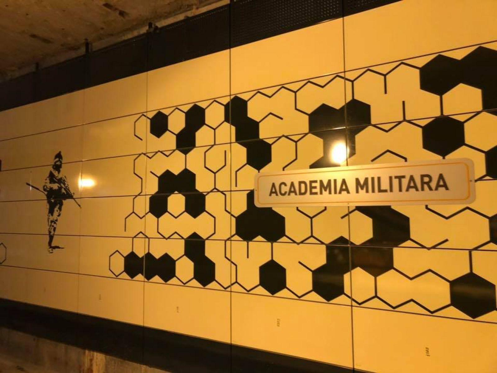 Inauguration of the metro station from Cotroceni – Academia Militara