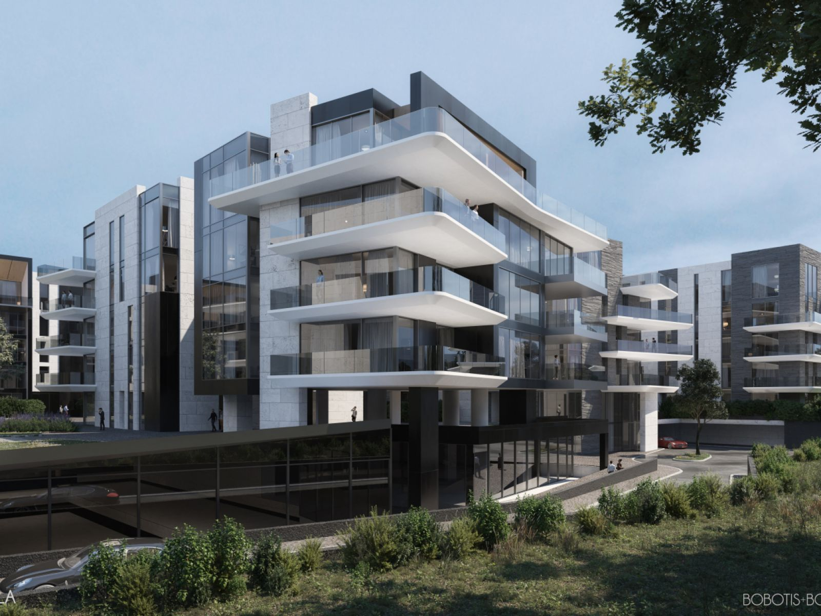 One Peninsula, the only residential club in Bucharest with geothermal heat pumps system, is already over 40% sold