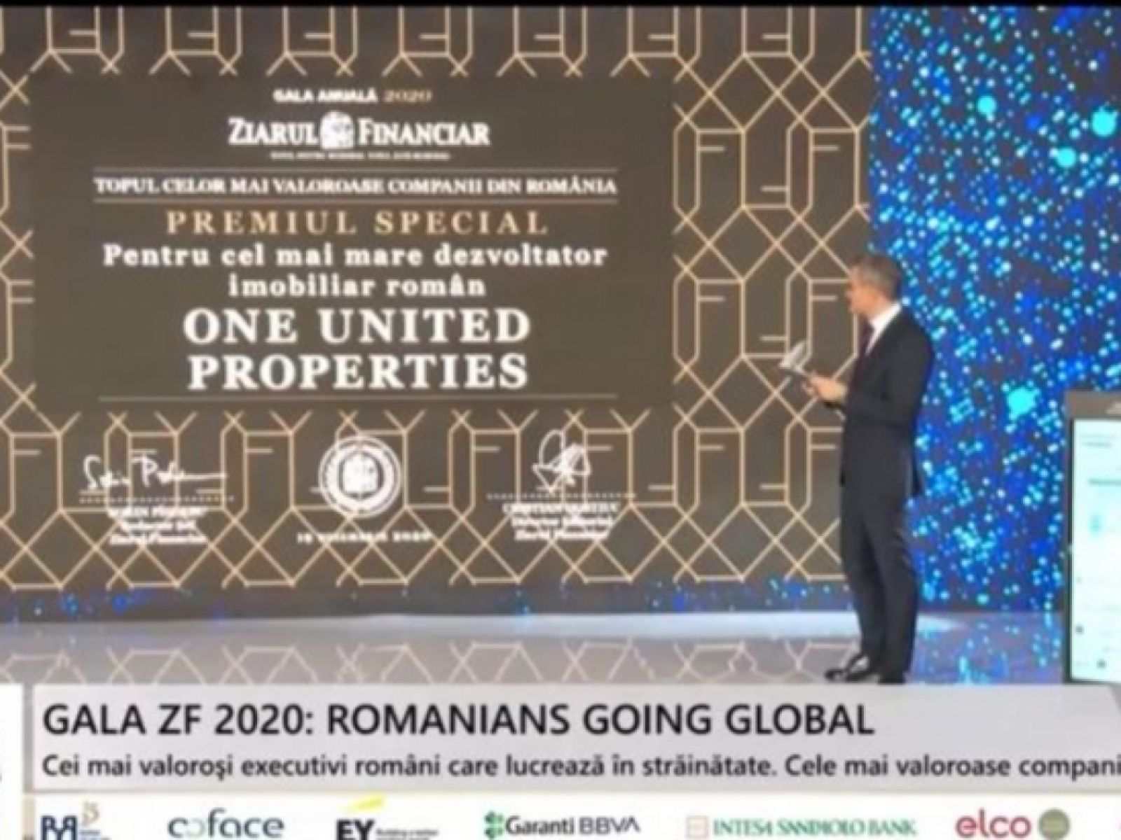 One United Properties awarded at ZF Gala – the leading real estate developer in Romania