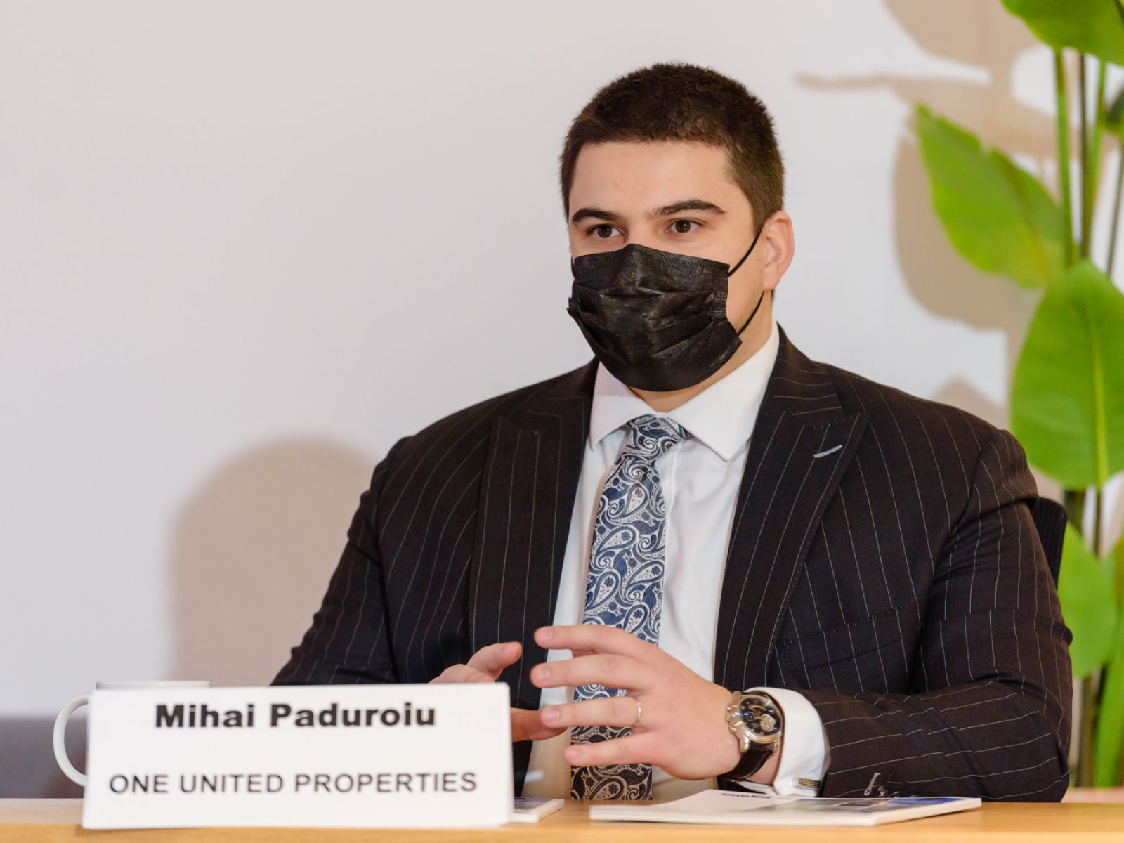 """Mihai Păduroiu, CEO Office Division One United Properties, at Bucharest Real Estate Club """"Media Days"""": The New Face of Bucharest"""