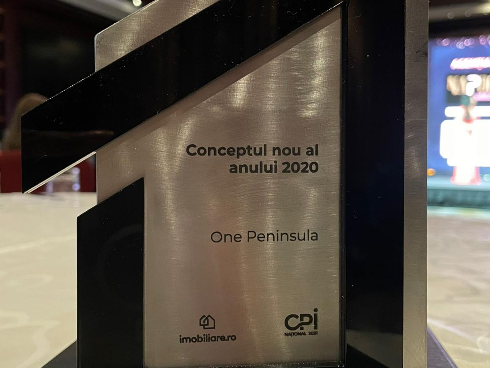 """One Peninsula awarded with """"New Concept of 2020"""" distinction at the Real Estate Professionals Gala"""