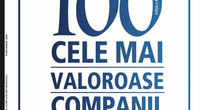 Top 100 most valuable Romanian companies