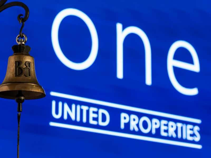 Acțiunile One United Properties intră în indicele BET