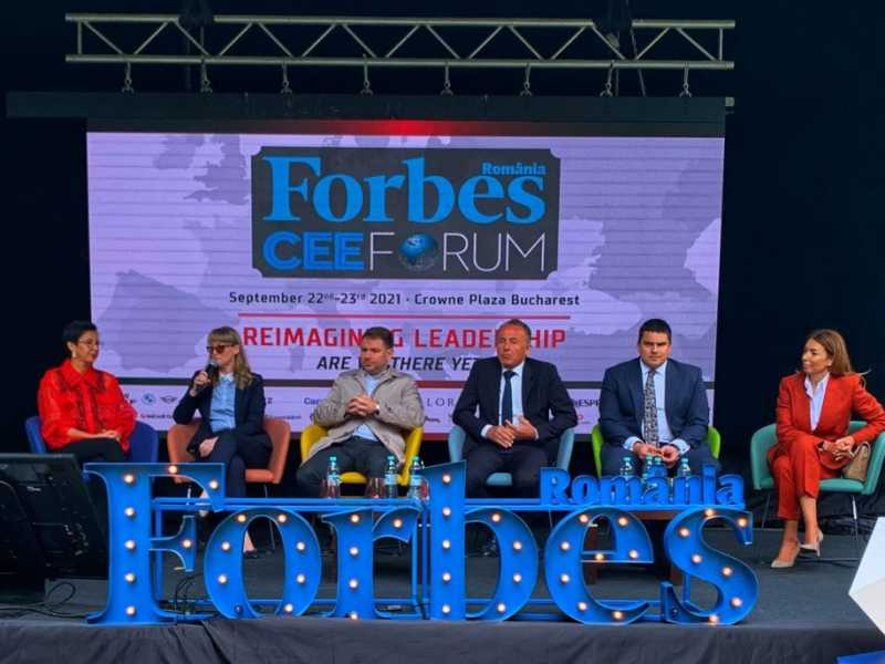Mihai Păduroiu, CEO Office Division One United Properties, la Forbes CEE Forum 2021