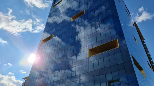 One Tower is the first office building in Romania to obtain LEED v4 Platinum Building Design and Construction certification