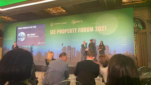 One Tower - Office Project of the Year at SEE Property Forum Awards 2021