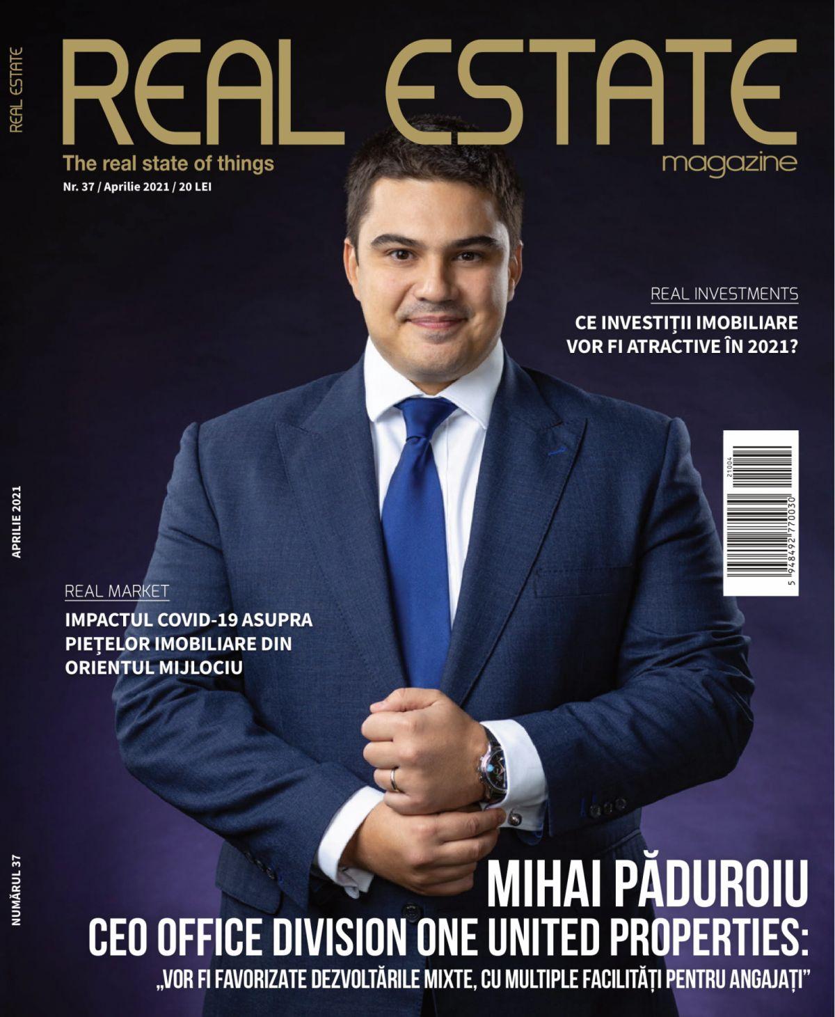 Real Estate Magazine Cover
